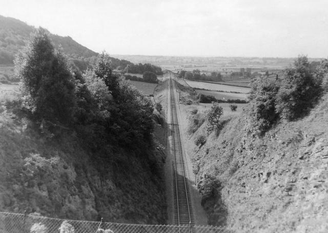 Dr Beeching's Railway Cutting (Yatton - Cheddar Line)