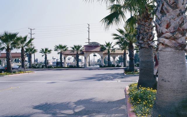 San Fernando railway station, LA County.