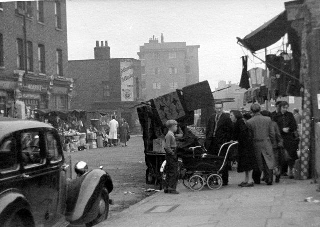 """""""I'm pretty certain this is Watney Street, facing south from near Commercial Road."""" CM."""