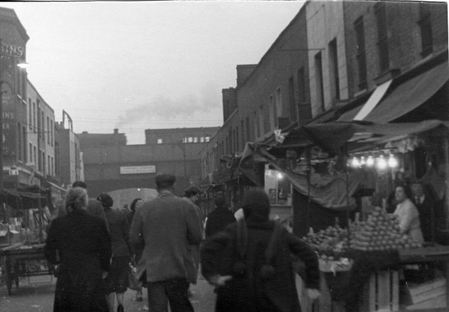 Watney Street, Shadwell, identified by Christopher Matheson