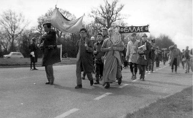 Andermaston March, 1962  Photo: Pete Grafton
