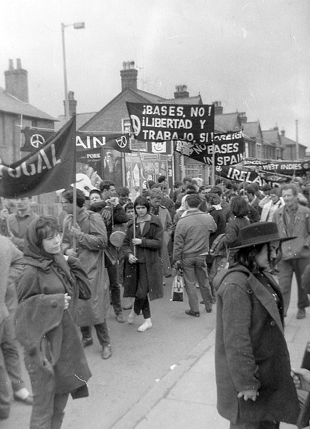 Aldermaston March, 1962.  Photo: Pete Grafton