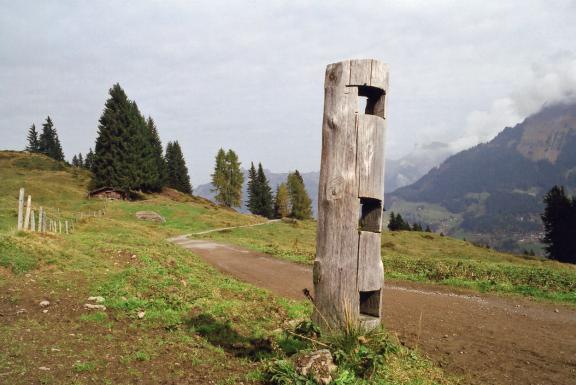 Swiss hiighlands post