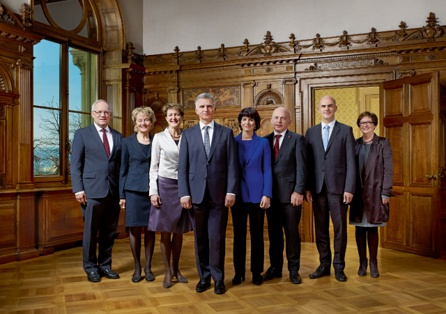 The Swiss Federal Council, 2014
