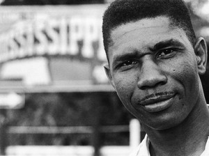 Medgar Evers, prominent Civil Rights Activist, assasinated 1963