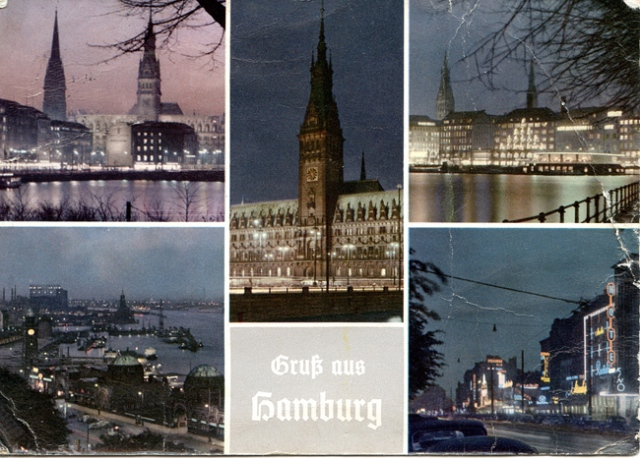 Greetings from Hamburg png