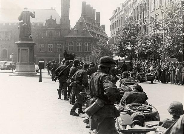 Grote Mart, Haarlem, 1940
