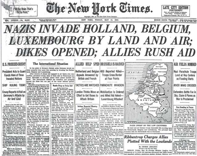 Nazis Invade Holland