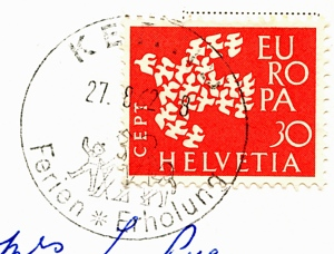 Swiss stamp