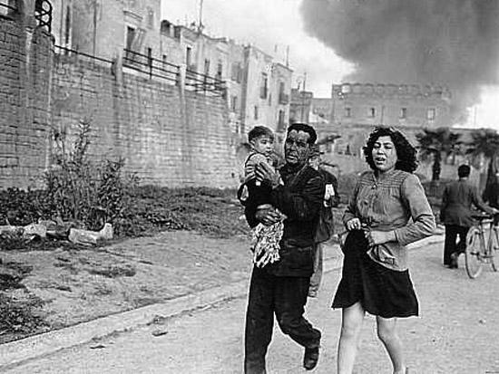 Bari raid, civilians