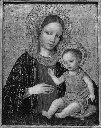 Madonna-And-Child-Early-Renaissance-Oil-Painting-LP01168